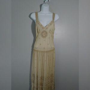 Newport News beaded dress sz M like new